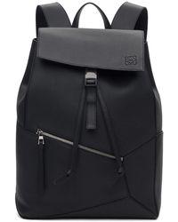Loewe - Black Puzzle Backpack - Lyst