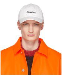 Etudes Studio - White Tuff Cap - Lyst