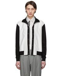 Paul Smith - Black And White Gents Jacket - Lyst