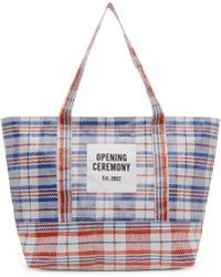 Opening Ceremony - Blue Medium Chinatown Tote - Lyst