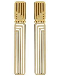 Lanvin - Gold Beyond Earrings - Lyst