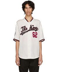 Dolce & Gabbana - White And Red The King Jersey Shirt - Lyst