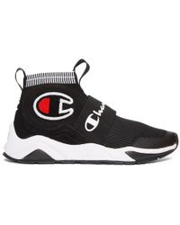Champion - Black Rally Pro High-top Trainers - Lyst
