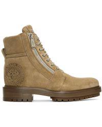Balmain - Tan Ranger Boots - Lyst