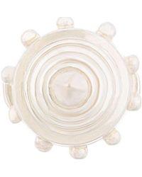 KTZ - Silver Cone Ring - Lyst