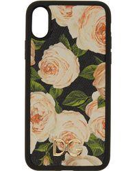 Dolce & Gabbana - Multicolor Flowers Iphone X Case - Lyst