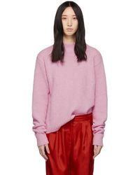 Tibi - Pink Alpaca Cozette Easy Sweater - Lyst