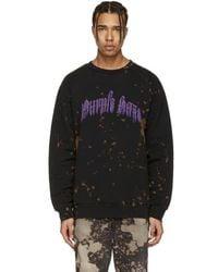 Palm Angels - Black Purple Haze Pullover - Lyst