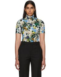 Erdem - Multicolour Floral Sallie Turtleneck - Lyst