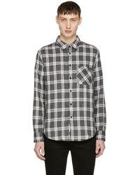 Rag & Bone - Grey Fit 3 Beach Shirt - Lyst