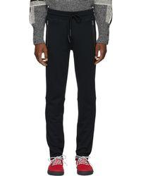 Moncler - Navy Zip Pocket Lounge Pants - Lyst