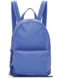 Alexander McQueen - Blue Small Backpack - Lyst