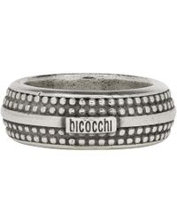 Emanuele Bicocchi - Silver Band Ring - Lyst