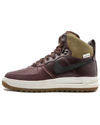 new styles 8fe31 8becd Nike Lunar Force 1 Sneakerboot Gs in Green for Men - Lyst