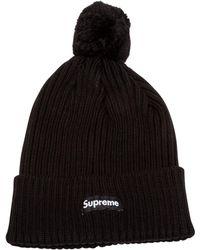 4154e0867ab Lyst - Supreme Beanie in Black