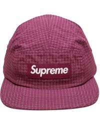 Supreme - Reflective Ripstop Camp Cap - Lyst