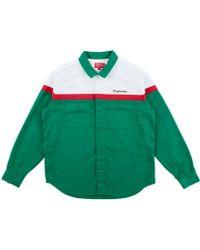 Supreme - Color Blocked Work Shirt - Lyst