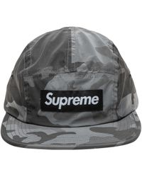 592c1c1362a Lyst - Supreme X Budweiser 2009 Snapback Cap Camo in Green for Men