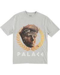 43662707f028 Palace Triline Brit Tshirt in Gray for Men - Lyst