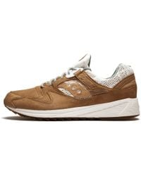 31a1d4f8d501 Saucony Grid 8500 Ht Suede Trainers In Green S70370-2 in Green for ...