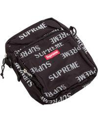 Supreme - Reflective Repeat Shoulder Bag - Lyst
