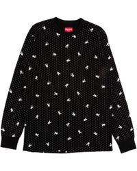 Supreme - Playboy Waffle Thermal L/s - Lyst