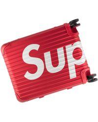Supreme - Rimowa Topas Multiwheel 45l Case Suitcase 'ss 18' - Lyst