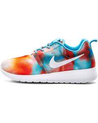 34bd7ca740c6 Lyst - Nike Roshe One Hyper Breathe Sneaker in Blue