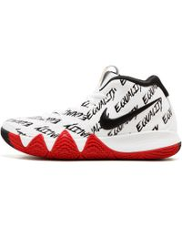 42512bab857 Nike Kyrie 4 Bhm Men s Basketball Trainers (shoes) In Red in Red for ...