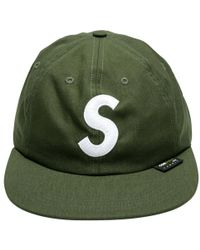 721080f3410 Lyst - Supreme Cordura S Logo 6-panel in Green for Men