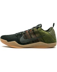 624541bfac39 Lyst - Nike Kobe Xi Elite Low Basketball Shoes in Black for Men