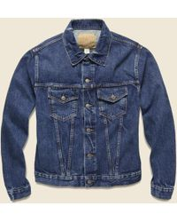 RRL - Denim Jacket - Stillwell Wash - Lyst