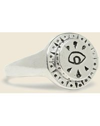 LHN Jewelry - All Seeing Eye Ring - Silver - Lyst