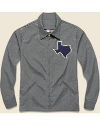 Ebbets Field Flannels - Texas Forever Work Jacket - Grey - Lyst