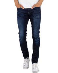 G-Star RAW - Dark Aged Revend Skinny Jeans - Lyst