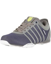 K-swiss - Charcoal/navy Arvee 1.5 Tech Trainers - Lyst