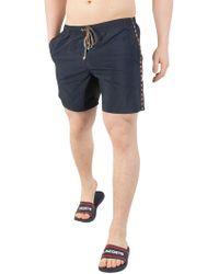 Aquascutum - Navy Dante Swim Shorts - Lyst