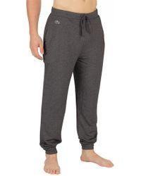 Lacoste Dark Grey Pyjama Bottoms - Gray