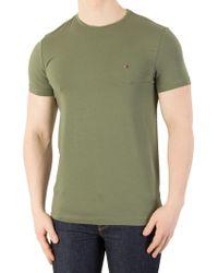 Tommy Hilfiger - Four Leaf Clover Stretch Slim Fit T-shirt - Lyst