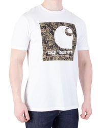 Carhartt WIP - White Collage T-shirt - Lyst