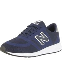 New Balance - Blue 420 Trainers - Lyst