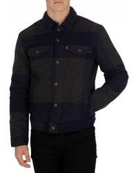 Levi's - Gelada Original Wool Trucker Jacket - Lyst