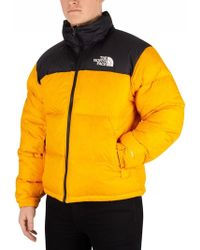 The North Face - Zinnia Orange 1996 Retro Nuptse Jacket - Lyst