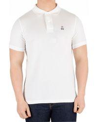 95421da6 Psycho Bunny - White Classic Poloshirt - Lyst