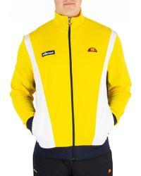 Ellesse - Yellow Vilas Track Jacket - Lyst