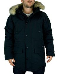 Carhartt WIP Black/black Anchorage Parka Coat
