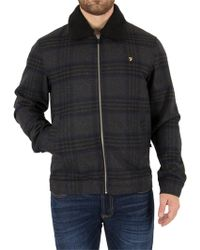 Farah - Grey Marl Otley Jacket - Lyst