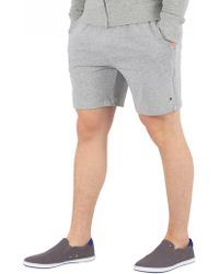 Tommy Hilfiger Mens Grey Basic Logo Sweatshorts
