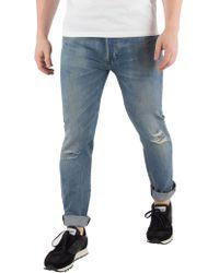 Levi's - Single Player Warp 501 Skinny Jeans - Lyst