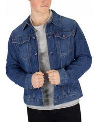 4404a196318 G-Star RAW G Star Denim Jacket Slim Tailor 3D Vintage Medium Aged in ...